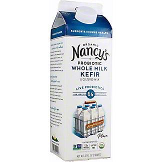 Nancys Kefir Whole Milk Plain, 32 oz