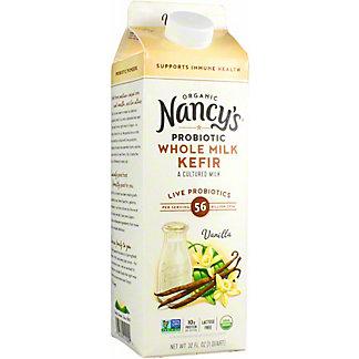 Nancys Kefir Whole Milk Vanilla, 32 oz
