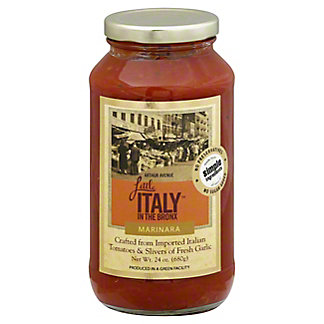 Little Italy In The Bronx Marinara Sauce, 24 oz