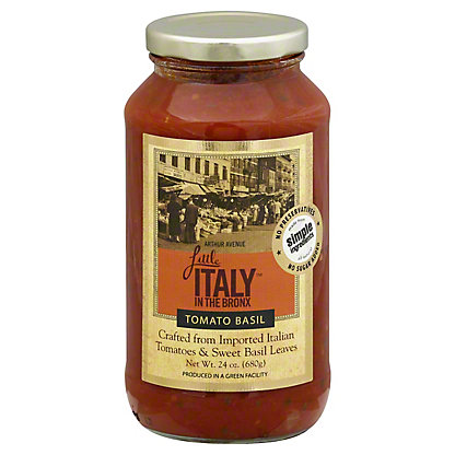 Little Italy In the Bronx Tomato Basil Sauce, 24 oz
