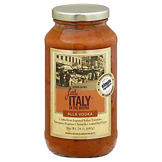 Little Italy In The Bronx Vodka Sauce, 24 oz