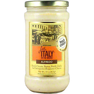 Little Italy In The Bronx Alfredo Sauce, 15 oz