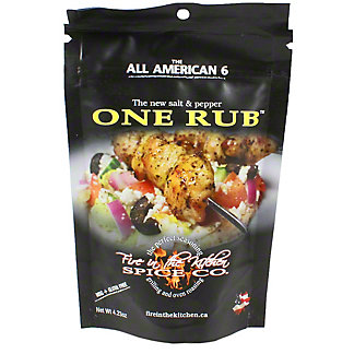 Fire In The Kitchen One Rub, 4.3 oz