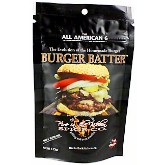 Fire In The Kitchen Burger Batter, 4.3 oz