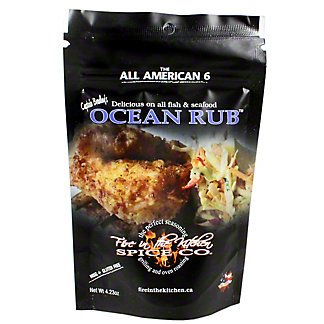 Fire In The Kitchen Ocean Rub, 4.3 oz