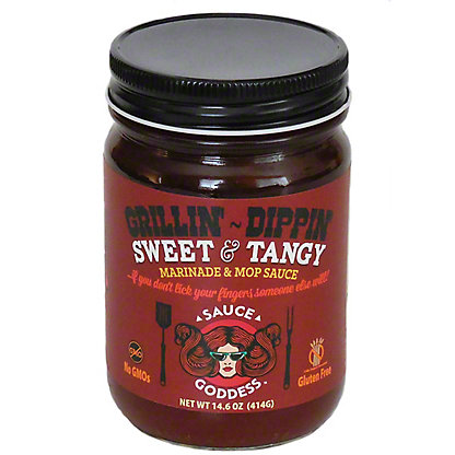 Sauce Goddess Sweet And Tangy, 14.6 oz