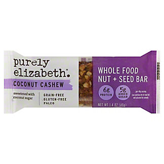 Purely Elizabeth Grain Free Bar Granola Coconut Cashew, 1.4 oz