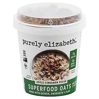 Purely Elizabeth Oats Apple Cinnamon Pecan, 2 oz