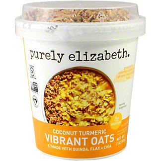 Purely Elizabeth Vibrant Oats Coconut Turmeric, 2 oz
