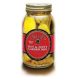 Safies Hot & Zesty Garden Mix, 32 oz