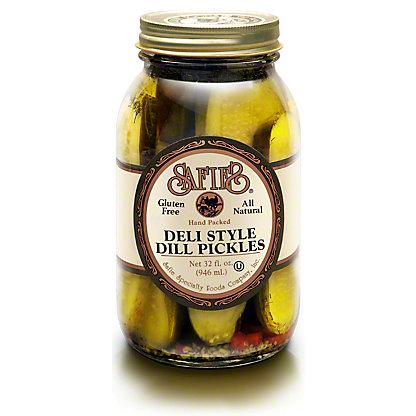 Safies Deli Style Dill Pickles, 32 oz