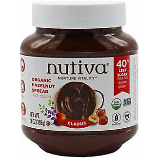 Nutiva Organic Hazelnut Spread, 13 oz