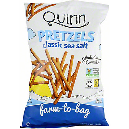 Quinn Gluten Free Sea Salt Pretzels, 7 oz