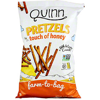 Quinn Gluten Free Honey Pretzels, 7 oz