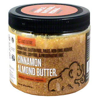 Base Culture Cinnamon Almond Butter, 16 oz