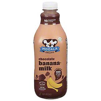 Mooala Organic Chocolate Banana Milk, 48 oz