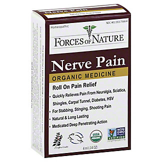 Forces Of Nature Nerve Pain Pain Management Rollerball, 4 mL