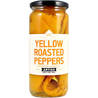 Artion Yellow Roasted Peppers, 16 OZ