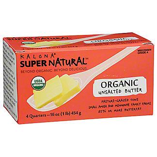 Kalona Supernatural Butter Unsalted 100% Organic, 1 lb