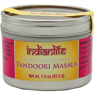 Indian Life Tandori Masala Spice, 1.5 OZ