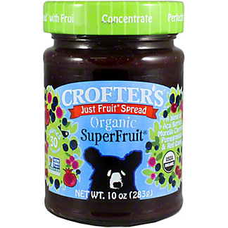 Crofters Just Fruit Organic Fruit Spread Superfruit, 10 oz