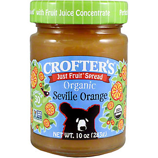 Crofters Organic Fruit Spread Orange, 10 oz