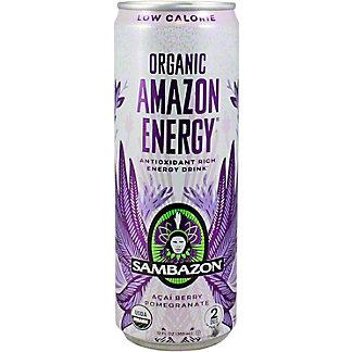 Sambazon Amazon Energy Drink Low-cal, 12 oz