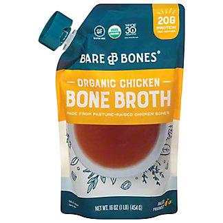 Bare Bones Organic Pasture Raised Chicken Broth, 16 oz