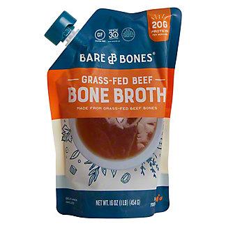 Bare Bones Organic Grass Fed Beef Broth, 16 oz