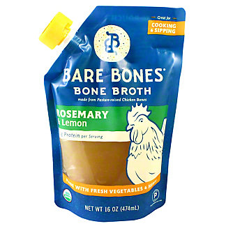 Bare Bones Rosemary Chicken Lemon Bone Broth, 16 oz