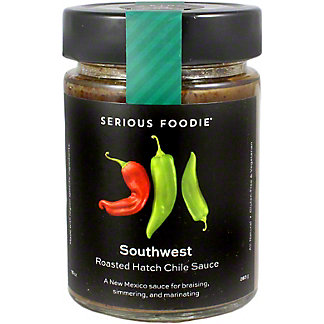 Serious Foodie Roasted Hatch Chili Sauce, 10 oz