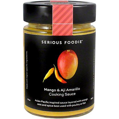 Serious Foodie Aji Amarillo Mango Sauce, 10 oz