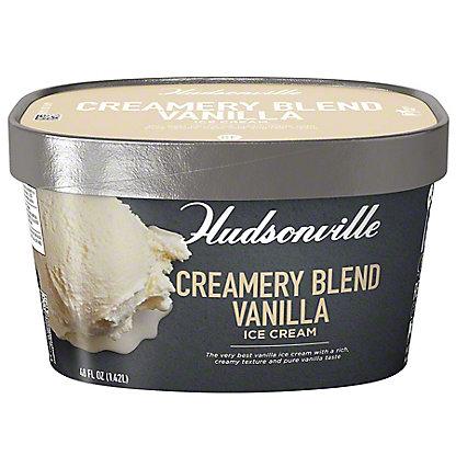 Hudsonville Ice Cream Creamery Blend Vanilla, ea