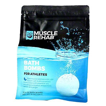 Enfusia Muscle Rehab Bath Bombs, 16 oz