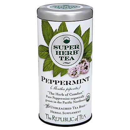 The Republic Of Tea Organic Peppermint Teabags, 36 ct