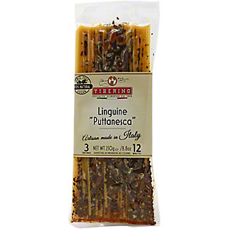 Tiberino Linquine Puttanesca With Olives & Capers, 8.8 OZ
