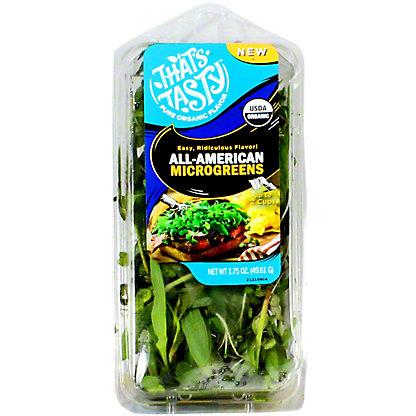That's Tasty All-american Microgreens, 1.75 oz