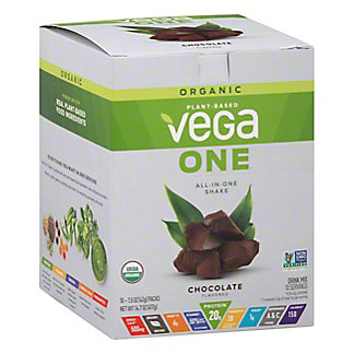 Vega One Organic Chocolate Box, 10 ct