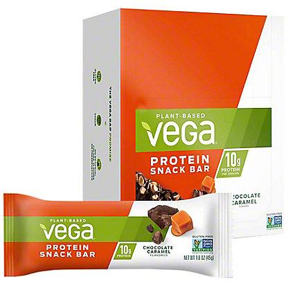 Vega ChocolateCaramel Protein Snack Bars, 12 ct, 1.6 oz ea