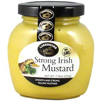 Lakeshore Strong Irish Mustard, 7.76 oz