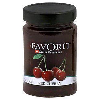 Favorit Red Cherry Preserves, 12.3 OZ