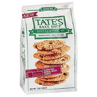 Tates Crisp Gluten Free Oatmeal Raisin Cookies, 7 oz