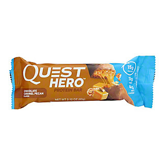 Quest Hero Chocolate Caramel Pecan Protein Bar, 2.12 oz