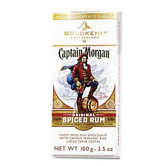 Goldkenn Captain Morgan Milk Chocolate Bar, 3.5 oz
