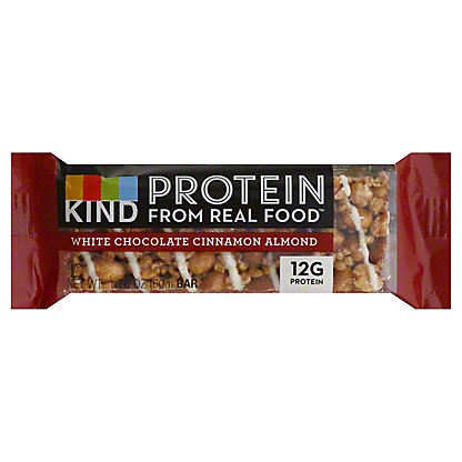 Kind White Chocolate Cinnamon Almond Protein Bar, 1.76 oz
