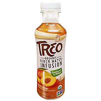 Treo Water Birch Peach Mango Organic, 16 oz