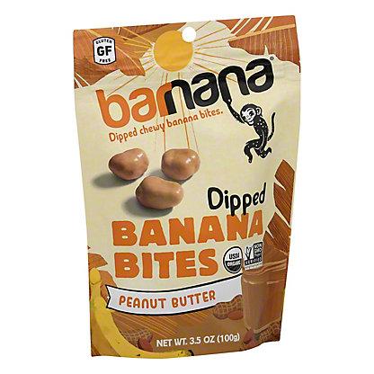 Barnana Organic Peanut Butter Chewy Banana Bites, 3.5 oz