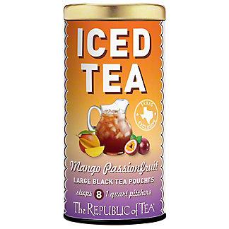 The Republic Of Tea Mango Passionfruit Iced Tea, 8 ct