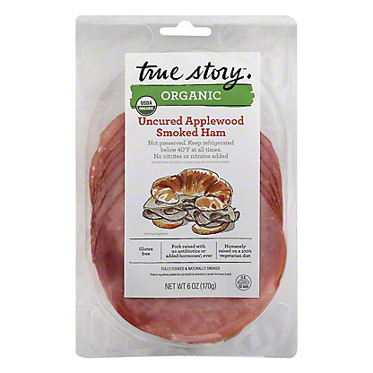 True Story Organic Smoked Ham, 6 oz