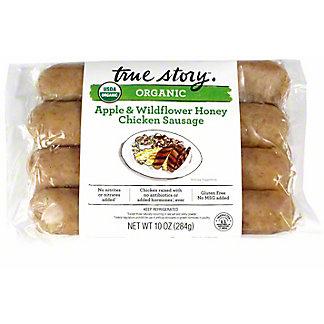 True Story Sausage Honey Apple, 10 oz